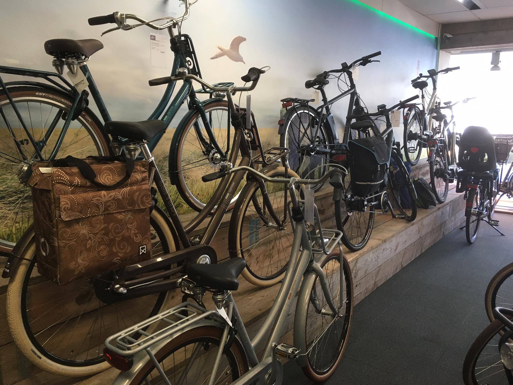Cortina U5 en elektrische fietsen